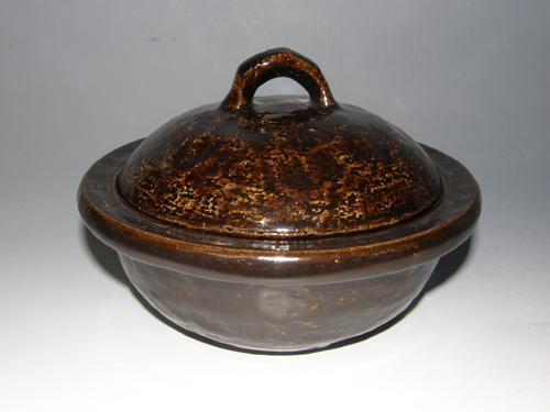 黒柿釉さぬき鍋焼き鍋
