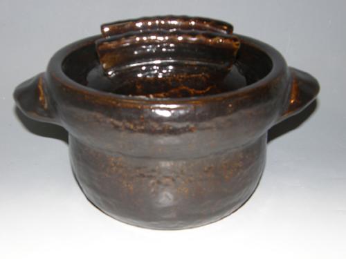 黒柿釉ごはん鍋 5合炊き