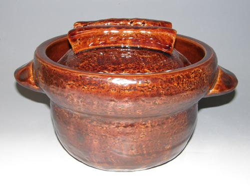 アメ釉ごはん鍋 5合炊き