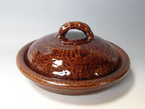 アメ釉焼鍋(パエリヤ鍋)
