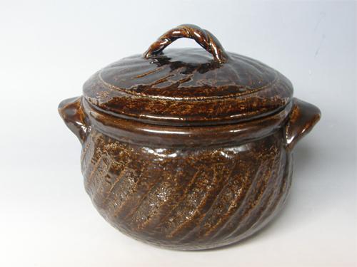 黒柿釉ポトフ鍋